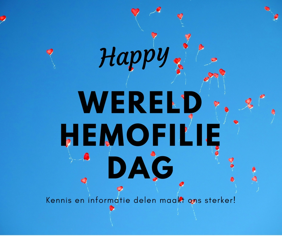 20180417 Wereldhemofiliedag post FB